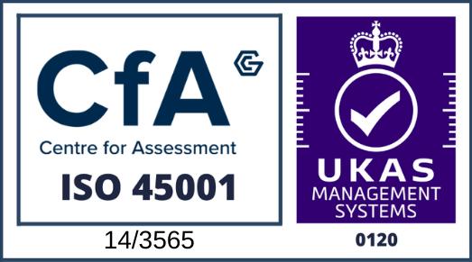 RKMS ISO 45001 UKAS Certificate
