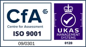 RKMS ISO 9001 UKAS Certificate